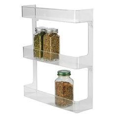 InterDesign® Cabinet Binz™  3-Tier Wall Mount Spice Rack