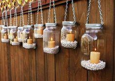 50 Creative Ways To Use Mason Jars On Your Big Day | HappyWedd.com