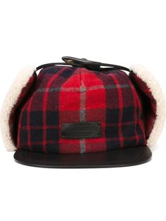 Shop Dsquared2 tartan baseball cap in Russo Capri from the world's best independent boutiques at farfetch.com. Shop 300 boutiques at one address.