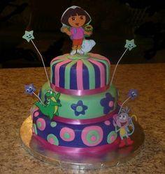 another dora idea cake