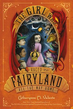 The girl who raced Fairyland all the way home by Catherynne Valente. September has been crowned as Queen of Fairyland but the Kingdom is in chaos. Magic has brought every King, Queen, or Marquees of Fairyland back to life, each with a claim on the throne. Free Books, Good Books, Books To Read, My Books, The Way Home, All The Way, Kingdom In Chaos, Fairy Land, Fairy Tales