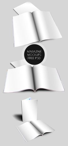 Free PSD Magazine MockUps for Presentation