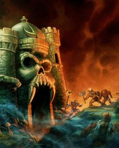 Fan Art Friday: Masters of the Universe by techgnotic on DeviantArt