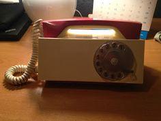 La Cacharrería de Carlos: TELEFONO VINTAGE MARCA TESLA MODELO T65H AÑO 1967