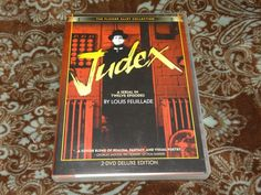 Judex (DVD, 2004, 2-Disc Set) Rare HTF Flicker Alley! 1917 Silent French Serial!