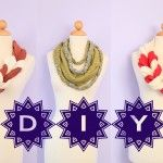 DIY Twisted & Braided Scarves
