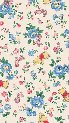 Disney Phone Wallpaper, Iphone Background Wallpaper, Kawaii Wallpaper, Love Wallpaper, Cellphone Wallpaper, Cartoon Wallpaper, Winnie The Pooh Pictures, Cute Winnie The Pooh, Cath Kidston Winnie The Pooh