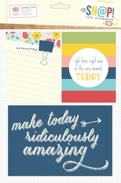 Life Documented Day to Day Card Set