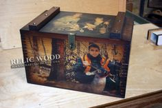 Wood Boxes & Vintage Gifts #hunting #camo #huntinggifts