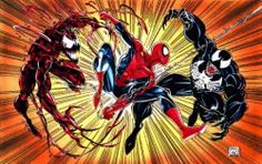 red and black venom comic drawings - Google Search