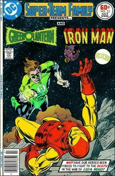 Super-Team Family: The Lost Issues!: Green Lantern and Iron Man