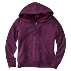 Merona Women's Sherpa Lined Hoodie at Target.  This is my most favorite piece of clothing that I have ever owned & I need this color now!