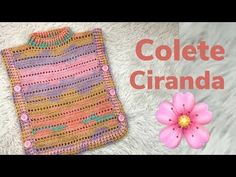 Look for the best vest for mothers who might brave the aspects. Crochet For Kids, Crochet Baby, Knit Crochet, Poncho Outfit, Knitting Videos, Crochet Poncho, Hobbies And Crafts, Crochet Clothes, Baby Dress