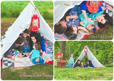 Camp inspired photo session theme
