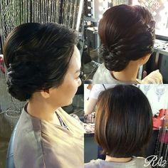 영산아트홀 연주메이크업 Up Styles, Hair Styles, View Image, Pearl Earrings, Fashion, Hair Plait Styles, Moda, Pearl Studs, Fashion Styles