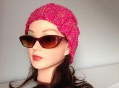 womens hats winter headband slouchy cable style por AllSeasonsNL