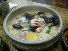 Kalguksu @jeju #koreanfood #cucinacoreana