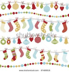 Vector Christmas Tags For Gifts Or Stickers - 64626346 : Shutterstock