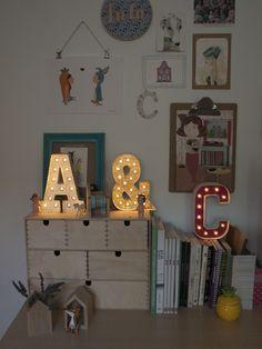 las letras luminosas más molonas y fáciles