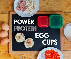 Protein Power Egg Cups 21-Day Fix-Approved Recipe