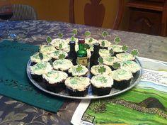 Leah's Irish car bomb cupcakes