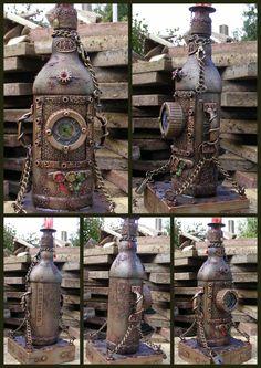 Own Work - 'Captured' Altered Bottle