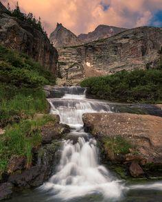 Near Black Lake, Rocky Mountain National Park, Colorado; photo by Wayne Boland .