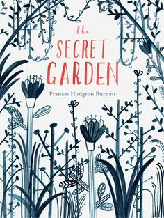 Book cover illustration by Lizzy Stewart. The Secret Garden by Frances Hodgson Burnett Book Cover Illustration, Children's Book Illustration, Book Illustrations, Book Cover Art, Book Cover Design, Book Art, The Secret Garden, Secret Gardens, Buch Design