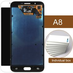 (1259.00$)  Know more  - Dhl 10pcs Mobile Phone Lcd Display Touch Screen Digitizer Assembly For Samsung A8 A8000 Special Offer