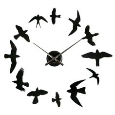 TO DIY OR NOT TO DIY: BIRDS DIY Wall Clock