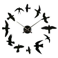 TO DIY OR NOT TO DIY: BIRDS DIY Wall Clock