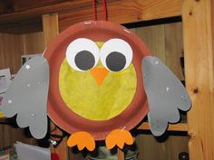 Crafts,Actvities and Worksheets for Preschool,Toddler and Kindergarten.Lots of worksheets and coloring pages. Owl Craft Projects, Owl Crafts, Paper Plate Crafts, Paper Plates, Diy And Crafts, Crafts For Kids, Easy Art For Kids, Easy Fall Crafts, Camping Crafts