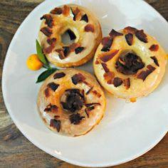 Maple bacon buttermilk doughnuts- dessert or breakfast?