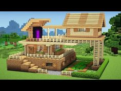 http://minecraftstream.com/minecraft-tutorials/minecraft-advanced-starter-house-tutorial-how-to-build-a-house-in-minecraft-easy/ - Minecraft: Advanced Starter House Tutorial - How to Build a House in Minecraft / Easy /  ➜Minecraft: How to Make a starter House  – Tutorial ➜Thumbs up^^ & Subscribe for more =) ►http://goo.gl/q4AtTD ➜Download houses from my website:             http://billionblocks.com ➜Download the Texture pack: http://billionblocks.com