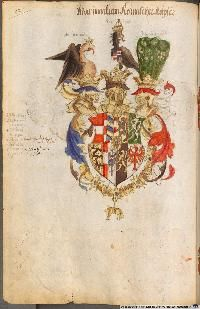 Image 00136 Kaiser Karl, Friedrich Ii, Coat Of Arms, King Queen, Stained Glass, Rooster, Painting, Animals, Fictional Characters