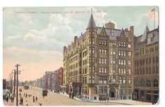 York Hotels, Motel, Multi Story Building, Painting, Art, Art Background, Painting Art, Kunst, Paintings