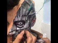 Makeup robô / robotic makeup - Victor Nogueira - YouTube
