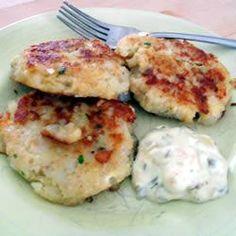 Cod fish cakes @ http://allrecipes.co.uk