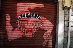 Palermo Italy, Italy Street, Tennis Racket, Street Art, Greek Chorus