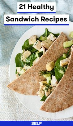 21 Healthy Sandwiche
