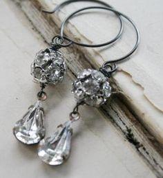 beautiful drop earrings  @jodi clark, do you love these