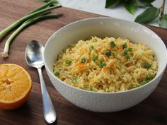 Get Orange-Flavored Rice Recipe from Food Network
