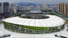 China, Shenzhen Bao'an- Bao'an Stadium, Universiade 2011. Competitions - gmp Architekten von Gerkan, Marg and Partners