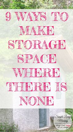 Do you feel like you have no storage space in your home?  This mom uses creative storage solutions to organize her family of four in their small house.