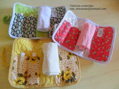 ## Kit higiene ## by Gabriola Costurinha, via Flickr