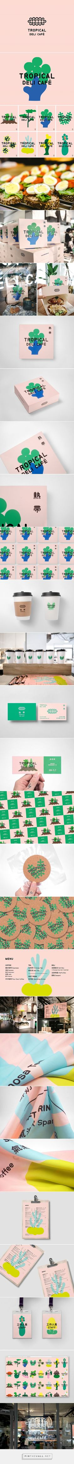 Tropical Deli Café Branding and Menu Design by Jay Guan-Jie Peng | Fivestar Branding Agency – Design and Branding Agency & Curated Inspiration Gallery