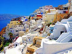 #4A Santorini, Greece | www.piclectica.com #piclectica