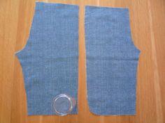 Kalhoty tří-čtvrťáky - varianta s lemováním nohavic