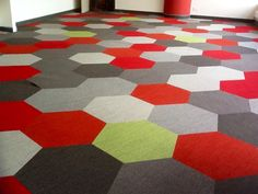 Hexagon Carpets by SHAW Group