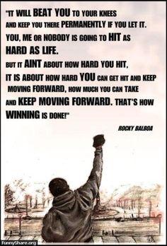 Rocky Winning Wife Balboa Adrian Italian Stallion Sports Inspirational Poster